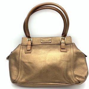 KATE SPADE shoulder bag BRONZE METALLIC
